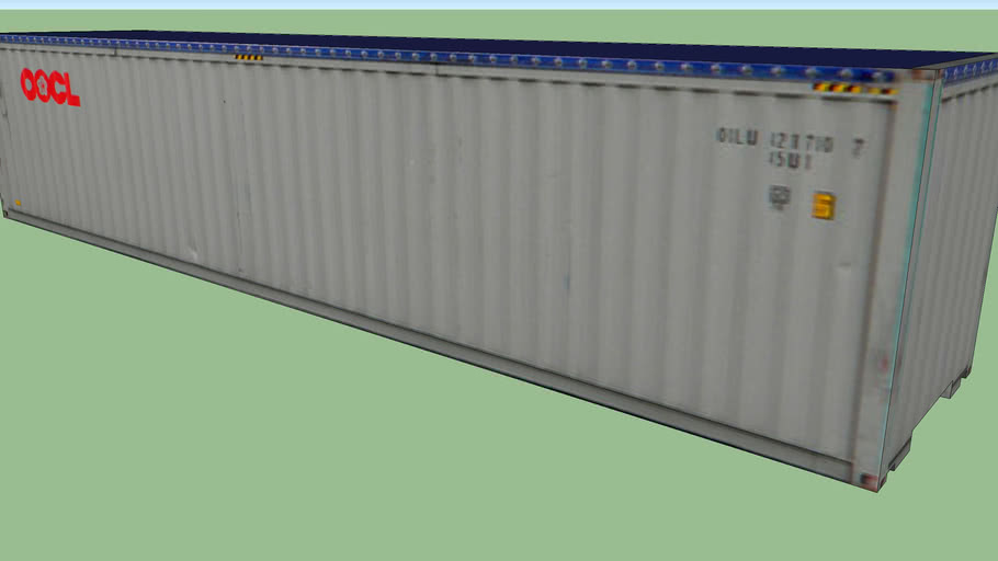 OOCL Open Top Container 40'
