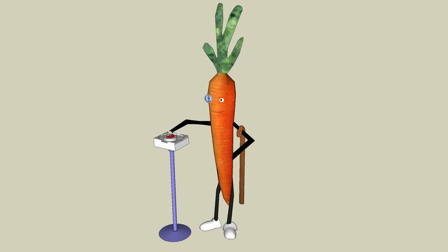 Abraham Mc'doodledar The Carrot