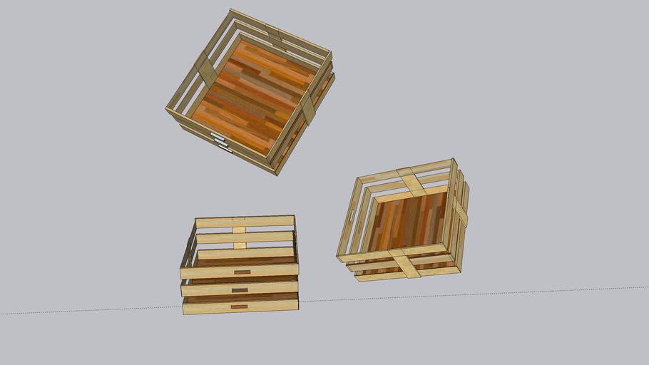 Diseño CAJA DE MADERA