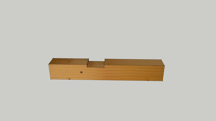 23b - Spoj uspravne, kose i vodoravne grede drvenog mosta - zadatak 3.skp