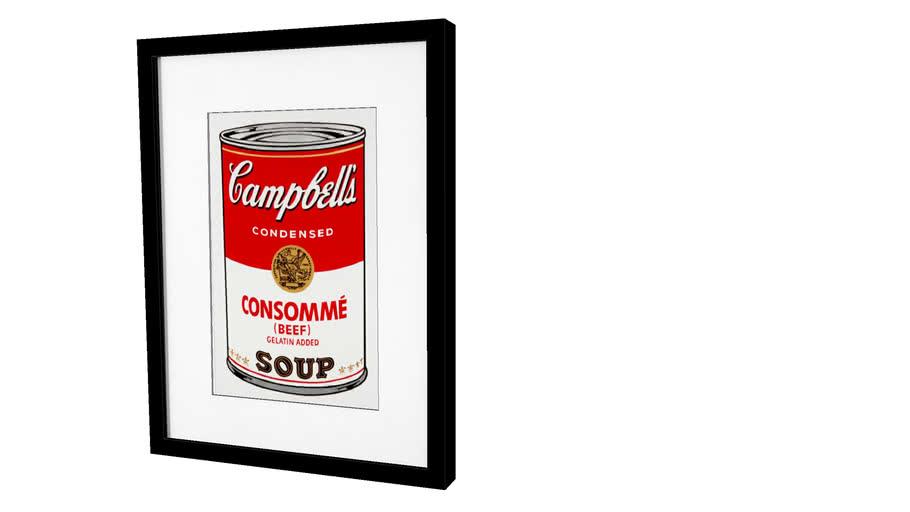 Quadro Gourmet - Consommè Soup