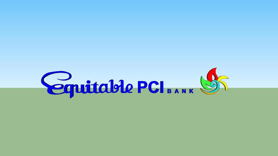 Equitable PCI Bank logo (1999-2007)