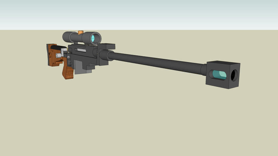 PGM sniper rifle