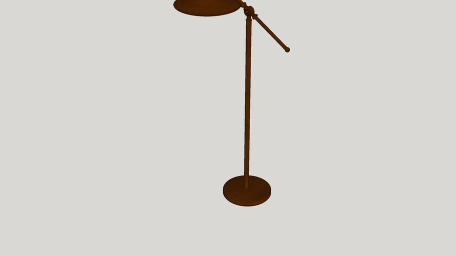 "Germencik  51"" LED Task Floor Lamp"