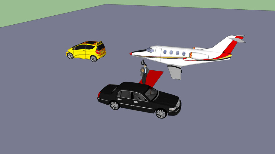Executive plane