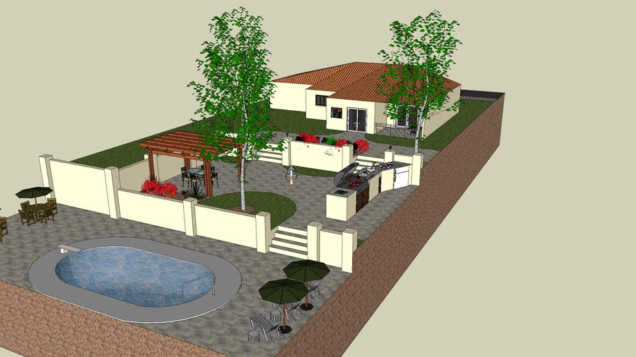 Bungalo With Garden