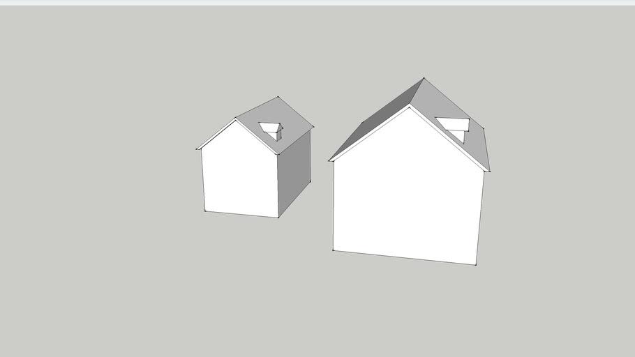 简易室外模型