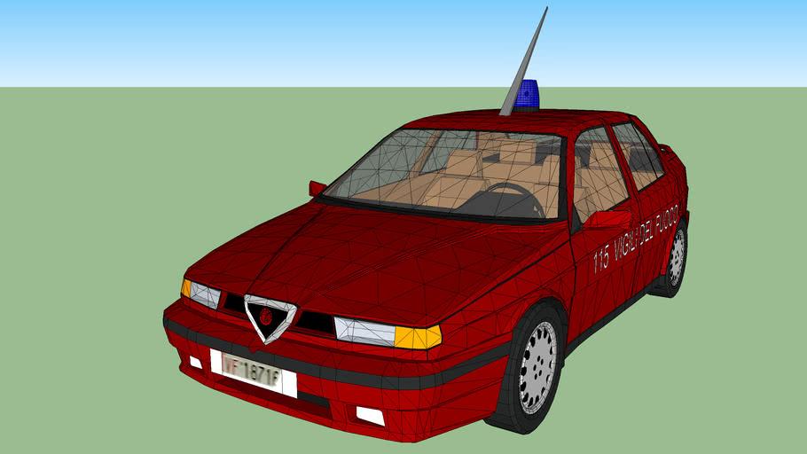 Alfa Romeo 155-Vigili del fuoco