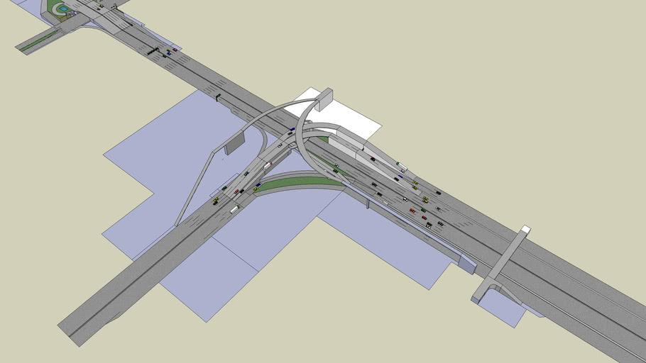 Model of a Superhighway (still underconstruction)