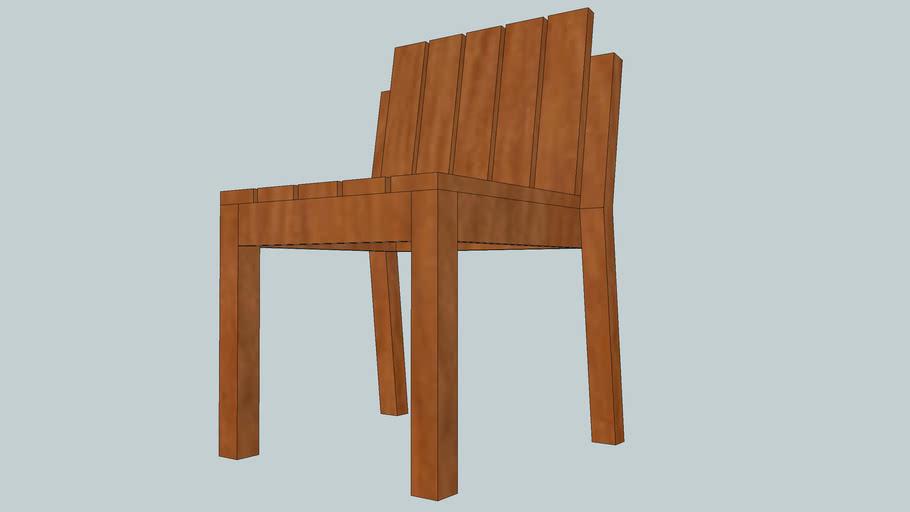 Cadeira Simples Empilhável