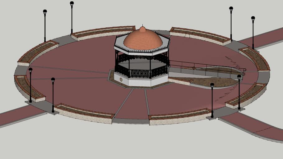 La Plaza Rotario Kiosko