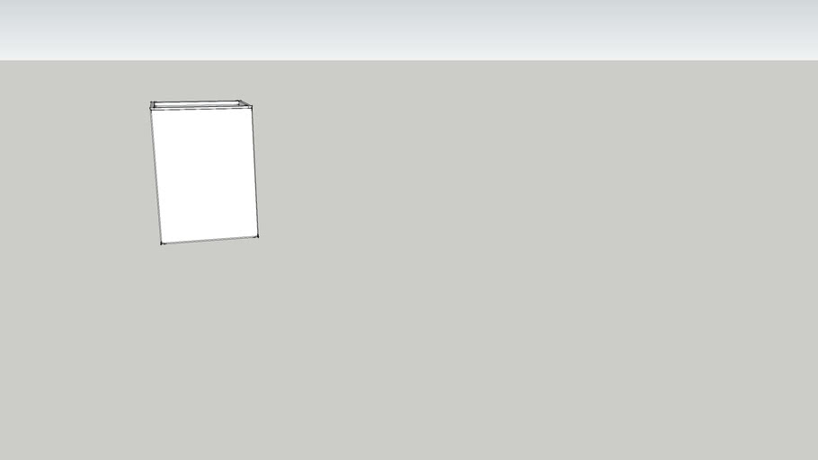 Modulo inferior 1 portas