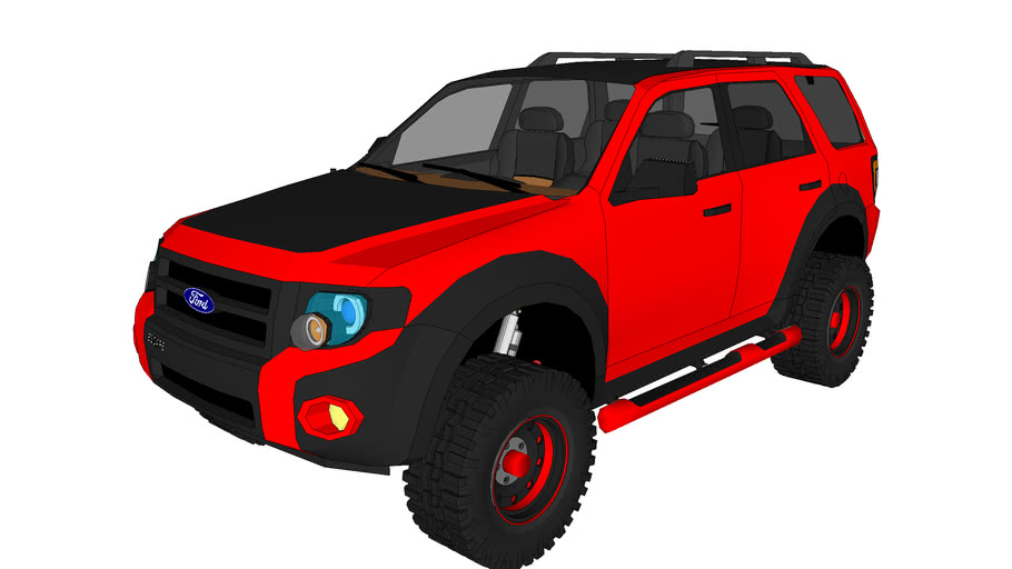 Ford Escape xls lifted