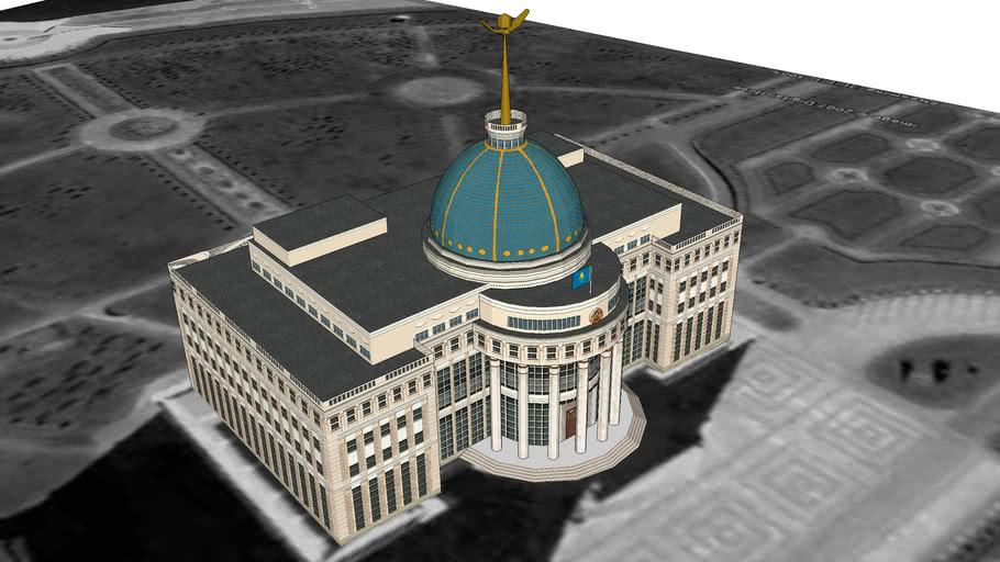 Ak Orda Presidential Palace, Astana, Kazakhstan
