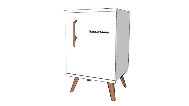 Frigobar Brastemp Retrô 76 L Ice White
