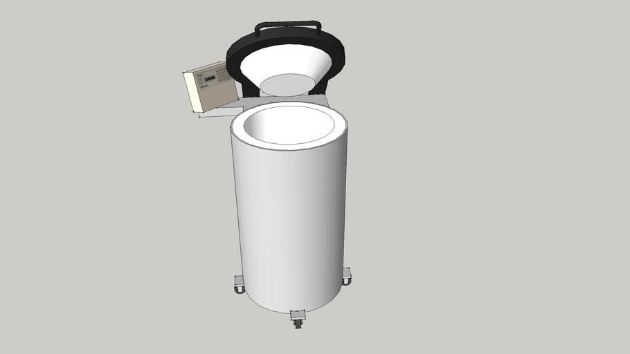 LN2 Cryo Freezer - TEC2000