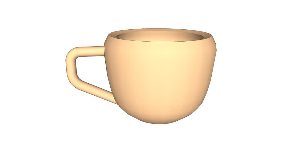 tasse à café vide / empty coffee cup