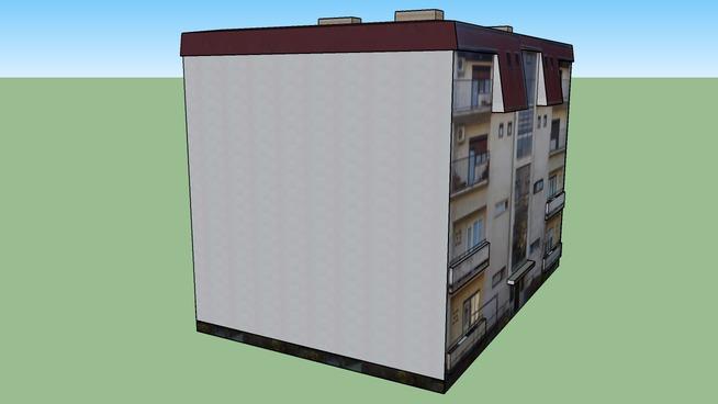 Residential buildings, ground floor + 3 floors.