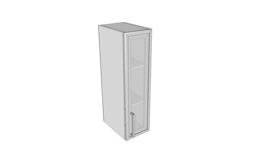 Jednokrilni stakleni gornji element - 20 cm