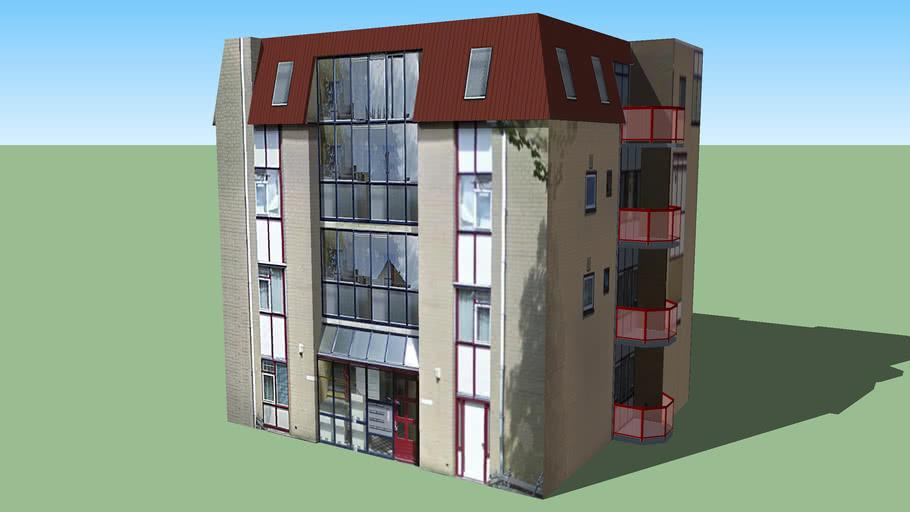 Building in vlissingen, The Netherlands