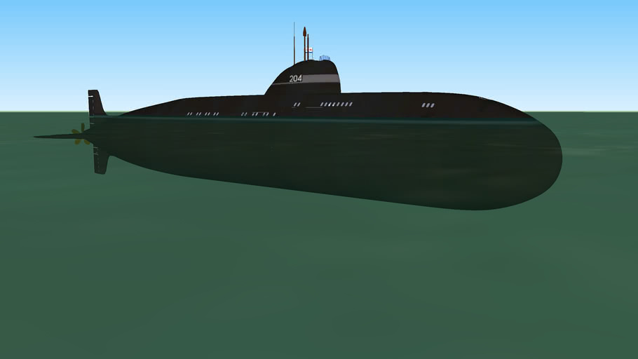 Project 671 'Yorsh' (Ruffe, NATO: VICTOR I) Nuclear Attack Submarine