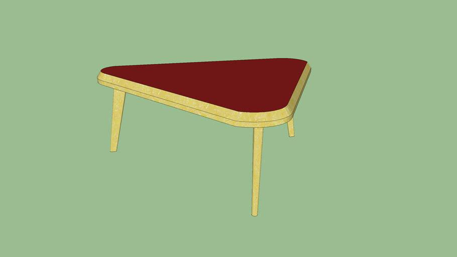 table basse annee 60