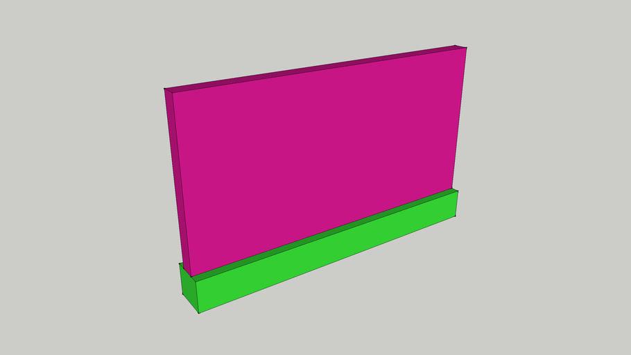 09-OS1- Opterecenje zida (linijsko opterecenje) - zadatak 9.skp