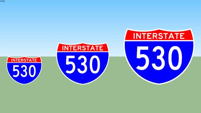 Interstate 530 Sign