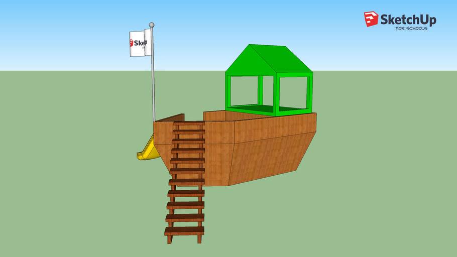 playground pirate ship- jderick rivera