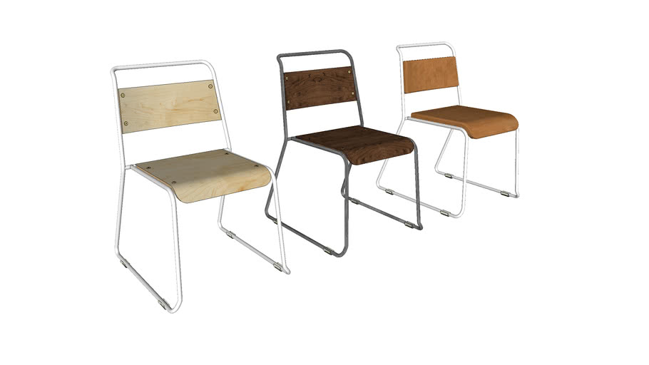 Trapeze Chair - Contemporary Furniture by Liqui