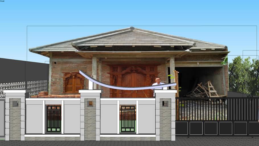 Pagar Rumah Minimalis 3d Warehouse