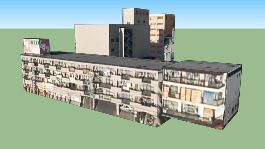 日本, 爱知名古屋的建筑模型