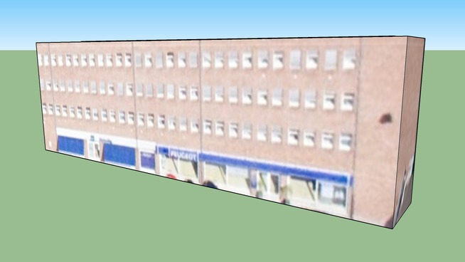 Bygning i København, Danmark