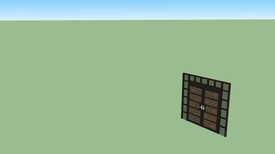 Modern Front Door 3d Warehouse
