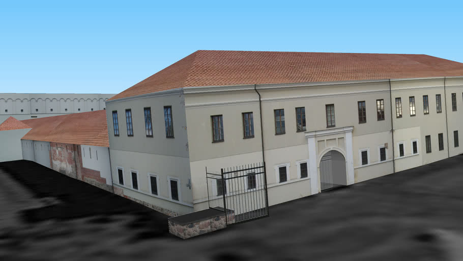 Museum Of Applied Arts In Vilnius Lithuania 3d Warehouse