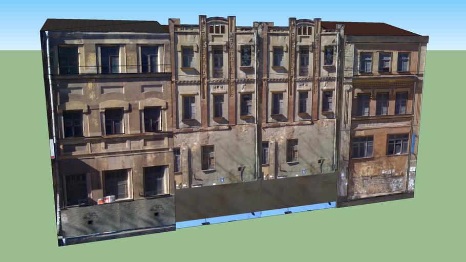 Старые жилые здания на Карла Либкнехта