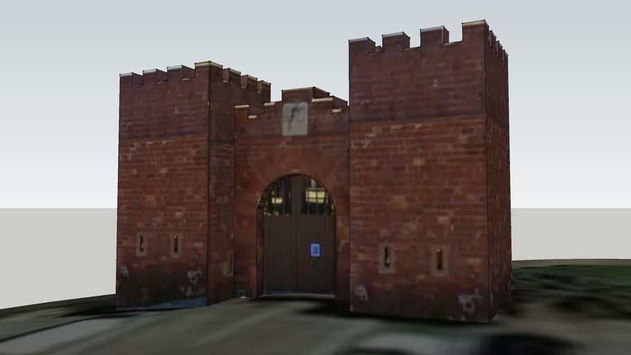 Puerta del castillo - Castelldefels