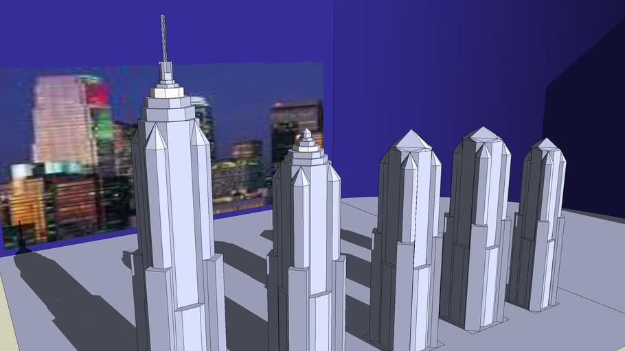 Five Skyscrapers