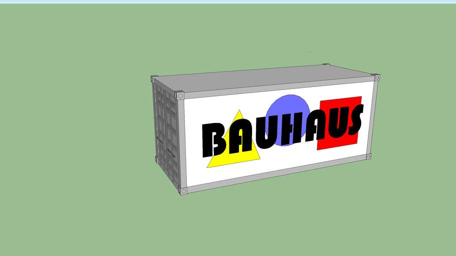 diseño container bauhaus