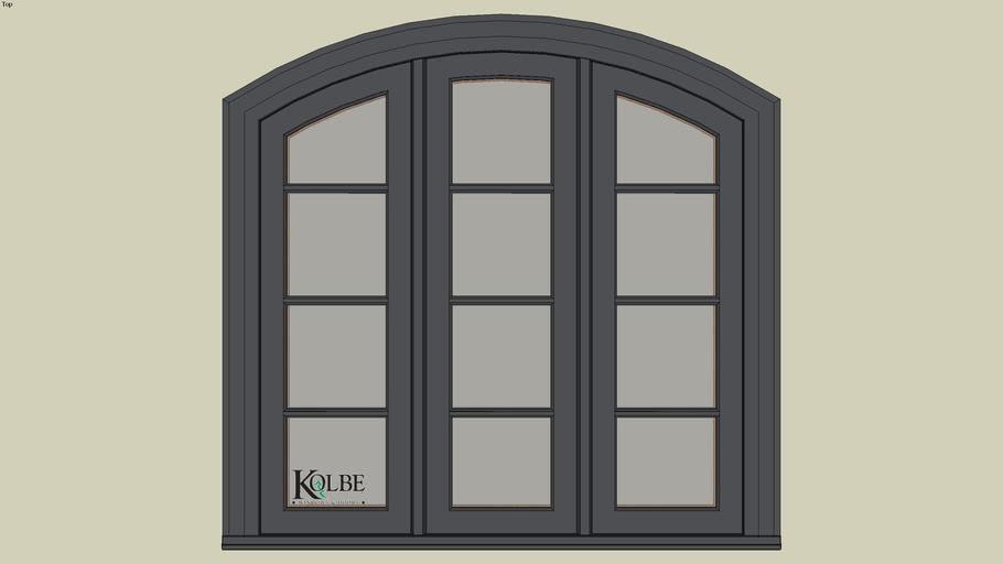 """Kolbe Ultra Segment Head Casement KUS34-SEG (F.S. 4'-0"""" x 4'-0"""" R.O. 4'-0 1/2"""" x 4'-0 1/2"""")"""