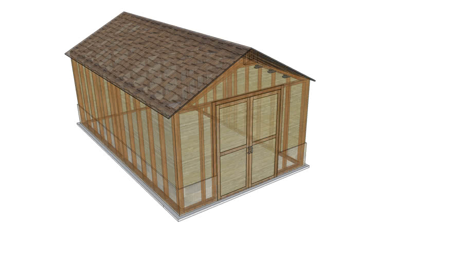12'x20' Shed