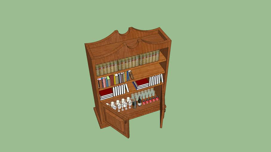 book shelf by miske