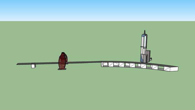 Континенталь и Живописный мост