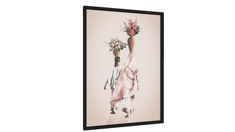 Quadro Mãe e Filha - Galeria9, por Marcela Picinin