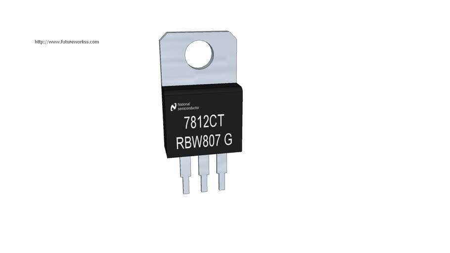 Regulador integrado LM7812C