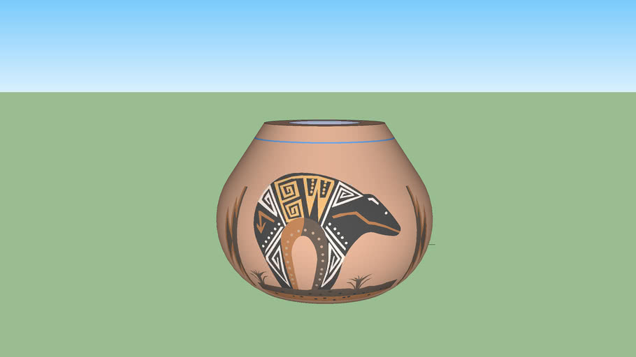 Native American Pottery #8