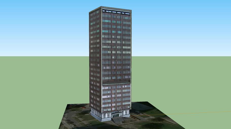 Nejvyšší budova v Ostravě
