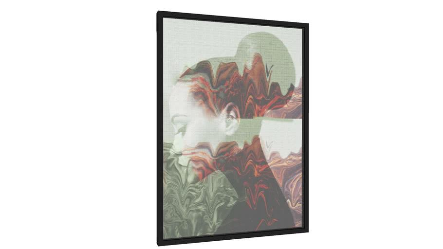 Quadro Face Kilauea - Galeria9, por Matheus Furtado Desenhista