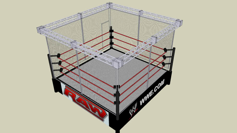 WWE Steel Cage Match