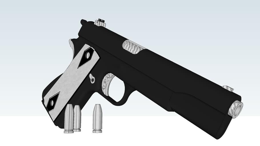COlt M1911 Black/Chrome